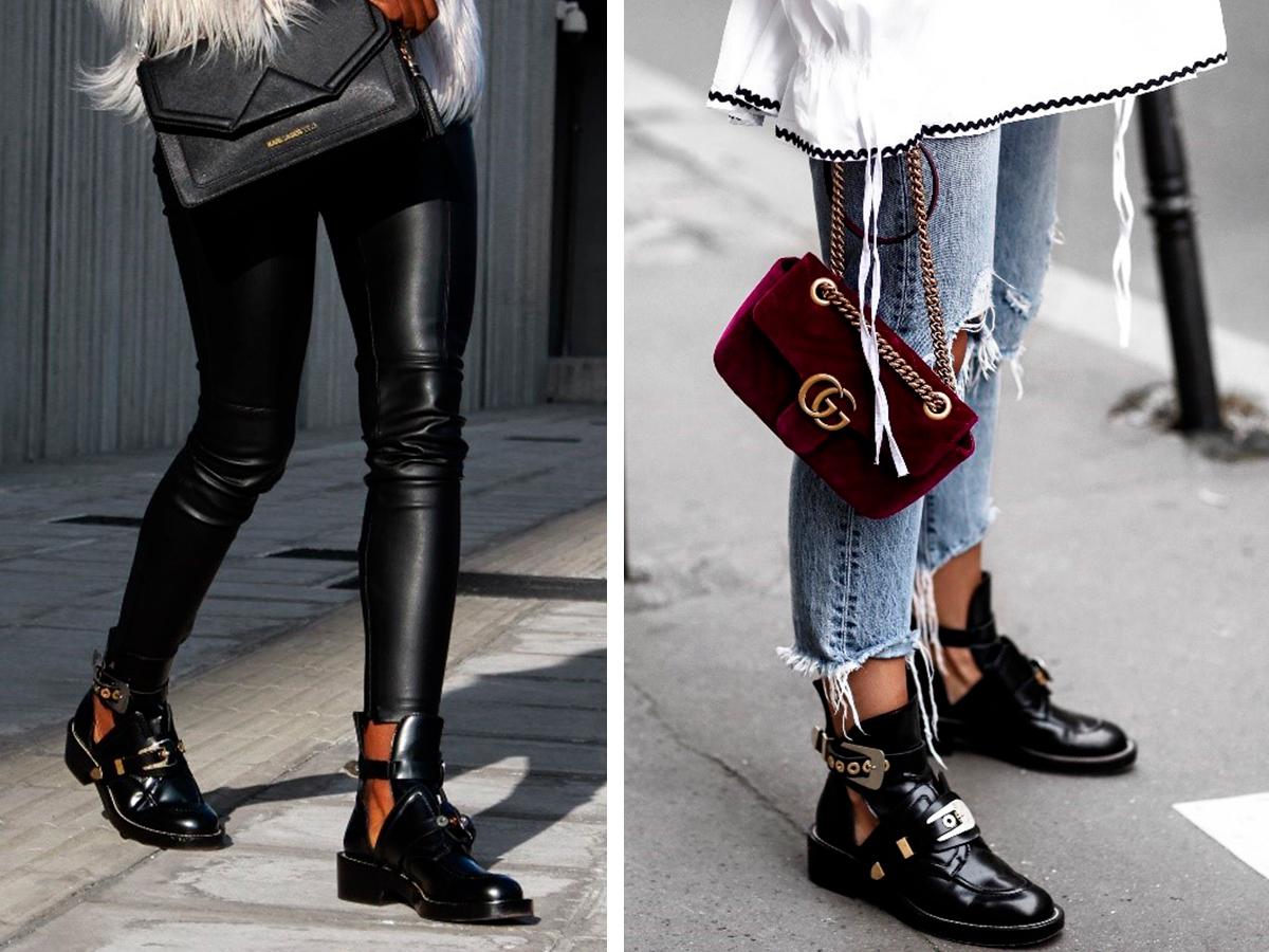 что носить с обувью без каблука